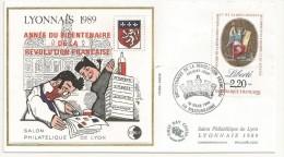 BLOC CNEP N°11 SUR ENVELOPPE DU SALON  SURCHARGE ANNEE DU BICENTENAIRE - CNEP