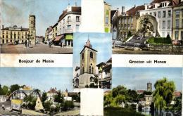 BELGIQUE - FLANDRE OCCIDENTALE - MENEN - MENIN - Bonjour De ... - Groeten Uit ... - Menen