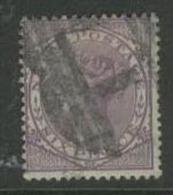NATAL 1874 6d Violet QV SG70 U DR37 - South Africa (...-1961)