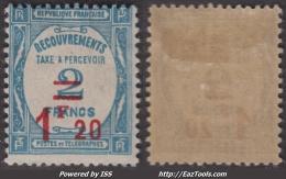 Y&T N°  64 Neuf * TB (cote  50€) - Postage Due