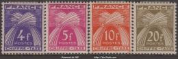 *PROMO* Y&T N° 74 à 77 Neufs * TB (cote: +14€) - Postage Due