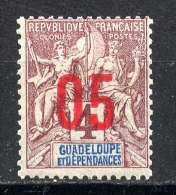 GUADELOUPE - N° 72* - TYPE GROUPE - Guadeloupe (1884-1947)