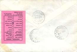 1974   Avis De Retour Sur FDC Allemand - 1944-... Repubblica