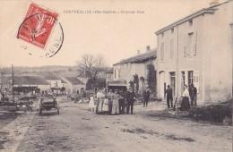 Ao - Rare Cpa CONTREGLISE - Grande Rue - France