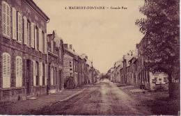 Mauberfontaine  Grande Rue - France