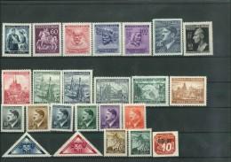 Bohemia & Moravia...lot Of 24 Unused Stamps - Unused Stamps