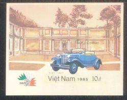 Vietnam Viet Nam MNH Imperf Souvenir Sheet 1985 : International Philatelic Exhibition In Italia (Ms477B) - Vietnam