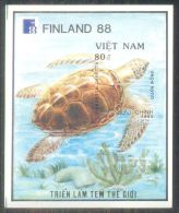 Vietnam Viet Nam MNH Imperf Souvenir Sheet 1989 : World Philatelic Exhibition / Turtle (Ms567B) - Vietnam