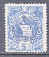GUATEMALA  33    (o)   1886  ISSUE - Guatemala