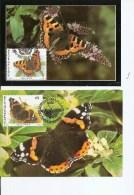 Papillons ( 4 CM De Belgique De 1993 à Voir) - Schmetterlinge