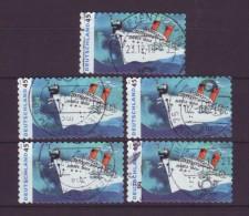 BRD - 2010 - 5 X MiNr. 2807 -  Gestempelt - Oblitérés