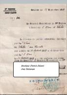 Document Du 21/09/1917 Chelles Orléans - Documenti