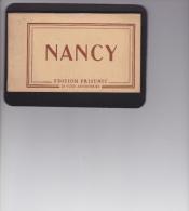 14 / 4  /  76  -  CARNET  20  VUES ( CPA  )  DE  NANCY - Cartes Postales