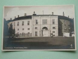 Frederiksberg Slot ( 778 ) Kobenhavn / Anno 19?? ( Fotokaart / Zie Foto Voor Details ) !! - Danemark