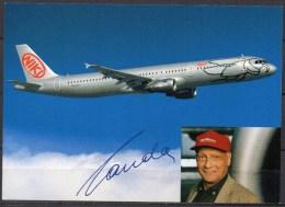 Carte Postale - Airbus A321-200 - NIKI - Neuve