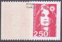 France Roulette N° 2719 C ** Marianne Du Bicentenaire - Briat - Le Rouge Gomme Brillante - Rollen