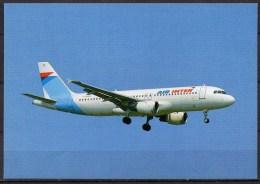Carte Postale - Airbus A320 - Air Inter - Neuve - 1946-....: Ere Moderne