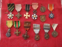 Lot Médailles Décorations Légion D´honneur Et Autres Militaires Et Civiles - France