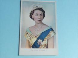 H.M QUEEN ELIZABETH II - Familles Royales