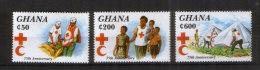 Ghana 2108-10  ** Rotes Kreuz (1994) - Ghana (1957-...)