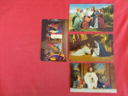 4 Card Lot- Not Mailed    Ref 1272 - Jesus
