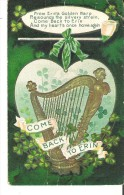 Happy St. Patrick's Day Come Back To Erin   From Erin's Golden Harp Resounds ........... Crease - Saint-Patrick's Day