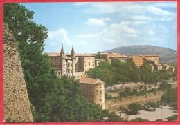 CARTOLINA VG ITALIA - URBINO (PU) - Panorama - 10 X 15 - ANNULLO URBINO 1977 - Urbino