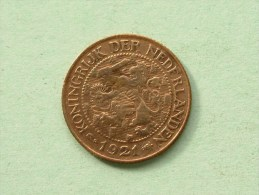 1921 - 1 CENT / KM 152 ( Uncleaned Coin / For Grade, Please See Photo ) !! - 1 Cent