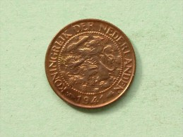 1941 - 1 CENT / KM 152 ( Uncleaned Coin / For Grade, Please See Photo ) !! - 1 Cent