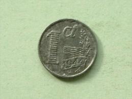 1944 - 1 CENT / KM 170 ( Uncleaned Coin / For Grade, Please See Photo ) !! - [ 3] 1815-…: Königreich Der Niederlande