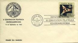 FDC Costa Rica - 1962 - Costa Rica