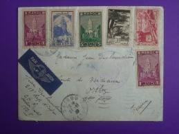 Env. P.A Sefrou Pour Orthez 1939 218e R.Infanterie, 6 Timbres.Voir Photos. - Lettres & Documents