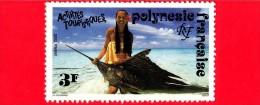 POLINESIA FRANCESE - 1992 - Turismo - Pesca - Fishing - 3 - Polinesia Francese