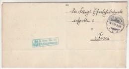 POLAND / GERMAN ANNEXATION 1906 L ETTER  SENT FROM  GRUDZIAC TO POZNAN - ....-1919 Übergangsregierung