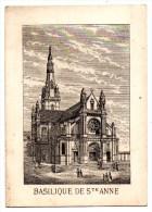 CHROMO, Basilique De St Anne, Grand Hôtel De France - Chromos