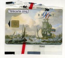 Télécarte 5 Unites Brest Matine Nationale NSB Gn 238 (lot 21) - Unclassified