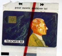 Télécarte 50 Unites Les Grands Musiciens Maurice Ravel 1992 NSB (lot 22) - Télécartes