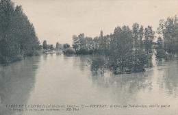 VOUVRAY - Crue De La Loire 1907 - Au Pont De Cisse - Vouvray