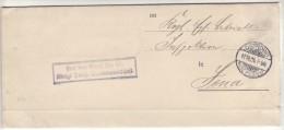 POLAND / GERMAN ANNEXATION 1906 L ETTER  SENT FROM  OSTROW TO JENA - ....-1919 Übergangsregierung