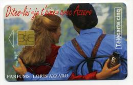 Télécarte 5 Unites Parfum Loris Azzaro TBE 1995 (lot 24) - Télécartes