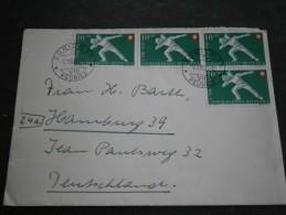 Schweiz: 2 Schöne Briefe Aus Dem Jahr 1950 Mit Pro Patria Zuschlagsmarken - Suisse