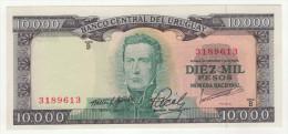 Uruguay 10000 Pesos ND 1967 Pick 51 XF - Uruguay