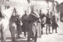 Photo Février 1916 SAINT-GERMAIN-LA-VILLE (près Marson) - Lieut. Blais, Fleutray, Varichon, Cdt Pajos (A60, Ww1, Wk1) - Non Classés