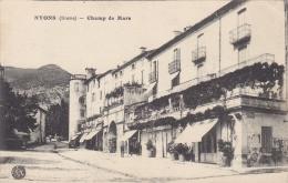 4k - 26 - Nyons - Drôme - Champ De Mars - Bauer - Nyons
