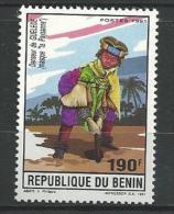 """Benin YT 696 """" Danseur """" 1991 Neuf** - Bénin – Dahomey (1960-...)"""