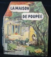"""RARE —Livre Animé Pop Up """" La Maison De Poupée """"— Années 60 - Antikspielzeug"""