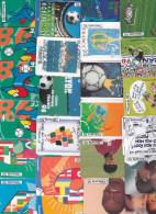 25 Télécartes 1998 (coupe Du Monde Football) - Francia