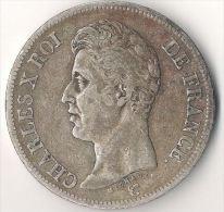 5 Francs Charles X 1826 A - France