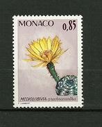 "MONACO 1974 N° 1000   ""Plantes Du Jardin Exotique (Médiolobivia Arachnacantha ) ""      NEUF - Unused Stamps"