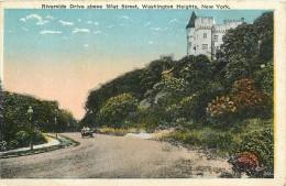 WASHINGTON RIVERSIDE DRIVE ABOVE  18 STREET - Etats-Unis